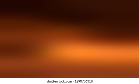 Gradient with Saddle Brown, Seal Black color. Colorful abstract background with shades degradation. Modern banner template. Volume effect with horizontal stripes.