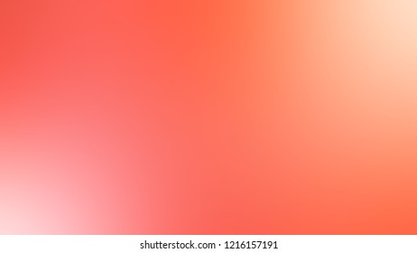 Gradient with Salmon, Red, Bittersweet, Orange color. Attractive blurred background with smooth color transition.