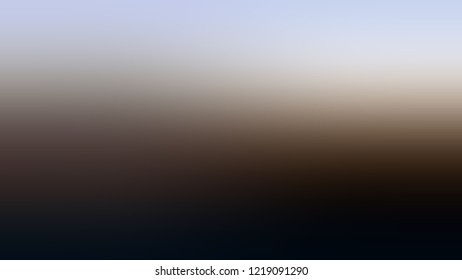 Gradient with Sambuca, Brown, Link Water, Blue color. Beautiful and appealing blurred background for web and mobile apps.