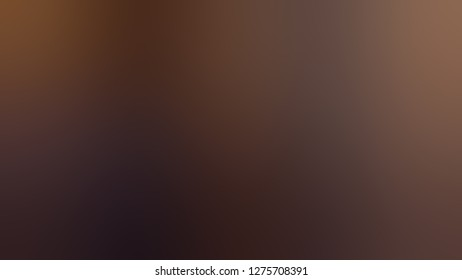 Gradient with Sambuca, Brown, Spice color. Very simple and modern background with color degradation. Model of blurred backdrop for banner or business presentation.