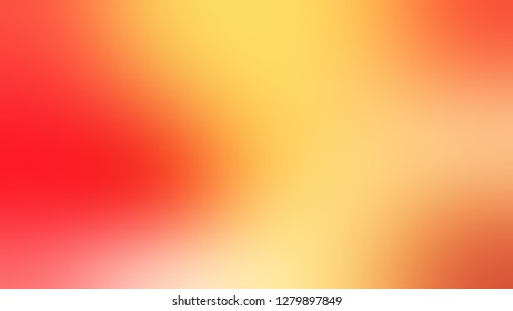 Gradient with Sandy Brown, Bittersweet, Orange color. Gaussian drawing as a work of art. Background without focus. Template and wallpaper to the screen of a smartphone.