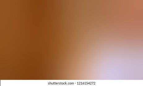 Gradient with Sante Fe, Brown, Quicksand color. Modern texture background with smooth transition of shades and color degradation.