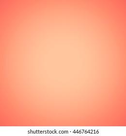 gradient scarlet color background. orange blurred backdrop wallpaper.