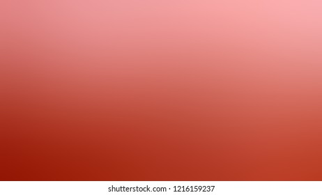 Gradient with Sea Pink, Grenadier, Orange color. Awesome blurred background for web and mobile apps.