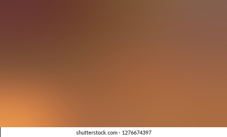 Gradient with Sepia, Brown, Cigar color. Beautiful raster blurred backdrop with smooth color degradation. Template for app or application.