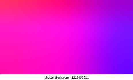 Gradient with Shocking Pink Dark Violet, Purple Deep color. Modern texture background, degrading fragments, smooth shape transition and changing shade.