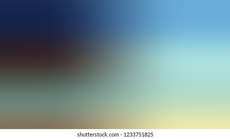 Gradient with Sinbad, Green, Cloud Burst, Blue color. Blend simple and modern blurred background with the deterioration of the color for your ad.
