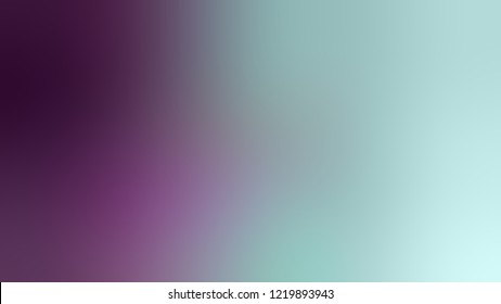 Gradient with Sinbad, Green, Honey Flower, Violet color. Raster modern defocused background as a work of art.