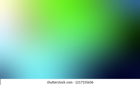 Gradient with Sinbad, Green, Mantis color. Defocused background with smooth color transition for mobile app.