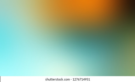 Gradient with Sinbad, Green, Oxley color. Classic simple blurred backdrop for desktop and mobile phone.