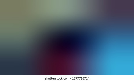 Gradient with Sirocco, Green, Matisse, Blue color. Beautiful raster blurred background with a smooth transition of colors and shades. Template for label design.