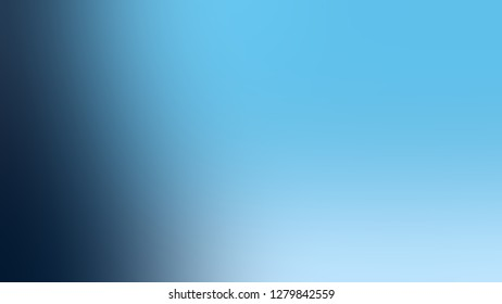 Gradient with Sky Blue, Matisse color. Gaussian drawing as a work of art. Blankbackground. Template for website or page.