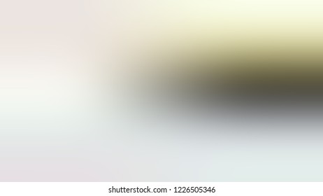 Gradient with Snow Drift, Grey, Sisal, Brown color. Blank simple blurred background for desktop and mobile phone.