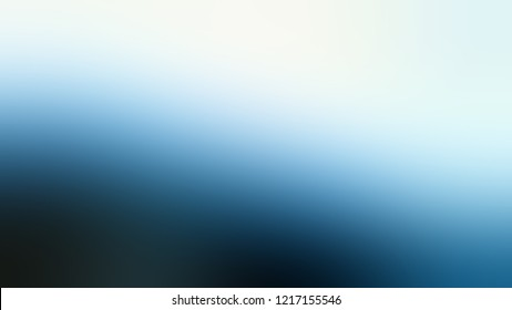 Gradient with Solitude, Blue, Black Pearl color. Awesome and simple defocused and blurred background with the transition colors for advertising.