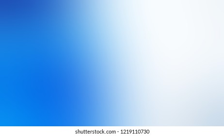 Gradient with Solitude, Blue, Dodger color. Appealing blurred background for web and mobile application.