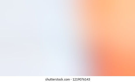 Gradient with Solitude, Blue, Macaroni And Cheese, Orange color. Beautiful defocused background with smooth color transition for mobile app.