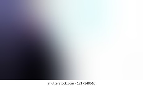 Gradient with Solitude, Blue, Martinique, Violet color. Awesome blurred background for banner or presentation.