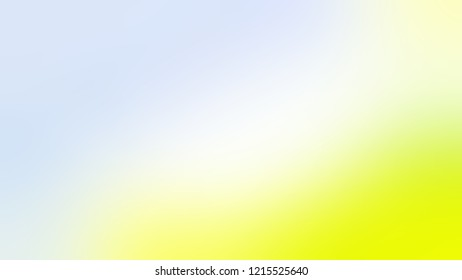 Gradient with Solitude, Blue, Tidal, Yellow color. A simple defocused background for ads or commercials.