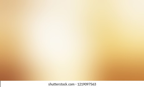 Gradient with Splash, Brown, Apricot White color. Raster simple blurred background for desktop and mobile phone. Template with changing shades and with space for text.