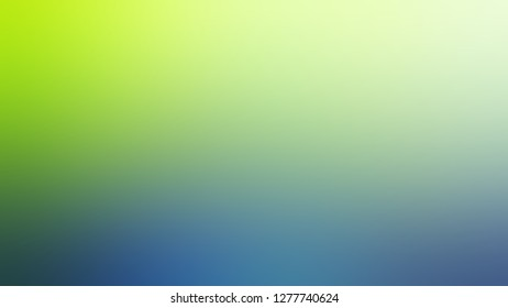 Gradient with Sprout, Green, Jelly Bean, Blue color. Blend and awesome blurred background for web and mobile apps.