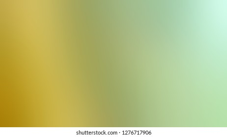 Gradient with Sprout, Green, Sundance, Brown color. Very simple and modern blurred background with colorful shades. Template for canvas or card.