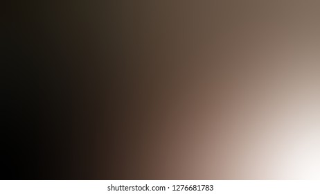 Gradient with Squirrel, Brown, Sambuca color. Artistic and decorative blurred background with smooth change of colors and shades. Template for web page or site.