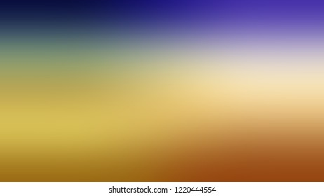 Gradient with Sundance, Brown, Fallow color. Raster simple modern background with color transition. Template with changing shades and with place for text.