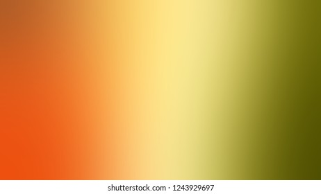 Gradient with Sundance, Brown, Tahiti Gold, Orange color. Simple and modern blurred background with the deterioration of the color for your ad. Template with changing shades.