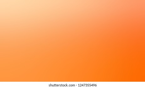 Gradient with Sunshade, Orange, Macaroni And Cheese color. Calm and awesome background with uniform smooth texture. Template for advertising and commercials.