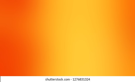 Gradient with Supernova, Yellow, Persimmon, Orange color. Calm and awesome blank background. Template with blank area for your text or advertising.