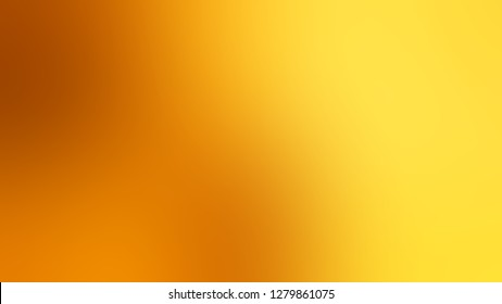 Gradient with Tangerine, Orange, Gorse, Yellow color. Beautiful raster background with smooth change of colors and shades. Template and wallpaper on the desktop PC or notebook.