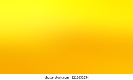 Gradient with Tangerine Yellow Gorse color. Modern texture background, degrading fragments, smooth shape transition and changing shade.