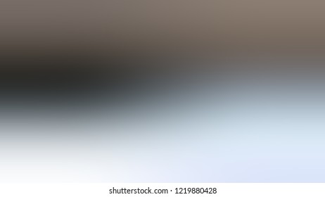 Gradient with Taupe Grey, Solitude, Blue color. Modern blurred and defocused background for banner or presentation.
