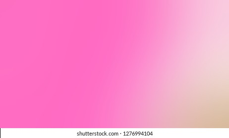 Gradient with Tea Rose, Pink, Coral Candy color. Chaos of color and hue. Background with defocused image. Template for canvas or card.