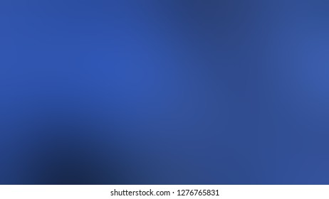 Gradient with Tory Blue color. Beautiful raster blurred background with smooth change of colors and shades. Template for label design.
