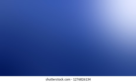 Gradient with Tory Blue, Portage color. Artistic and decorative blurred background with a smooth transition of colors and shades. Template for advertising your product.