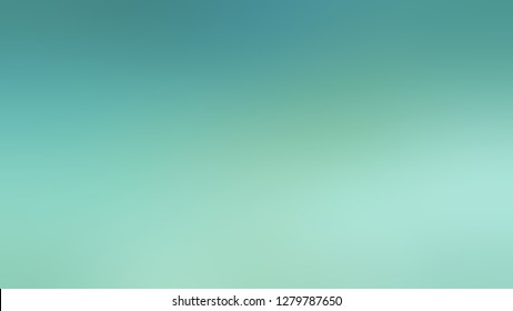 Gradient with Tradewind, Green, Sinbad color. Gaussian drawing as a work of art. Background with abstract style. Template and wallpaper to the screen of a cellphone.