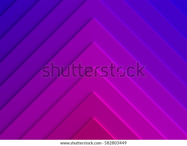 Gradient triangles abstract background. Can be used for web design, wallpaper, modern design, commercial banner and mobile application. 3D illustration.