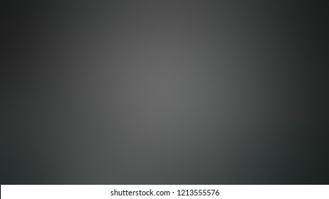 Gradient with Tuatara Gray, Black color. Modern texture background, degrading fragments, smooth shape transition and changing shade.