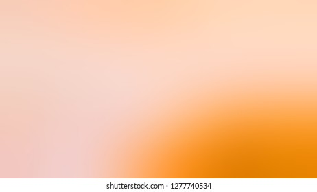 Gradient with Tuft Bush, Pink, Macaroni And Cheese, Orange color. Gaussian drawing as a work of art. Background with uniform smooth texture. Mock-up with blank space for text and advertising.