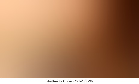 Gradient with Tumbleweed, Brown, Copper Canyon color. Modern defocused background as a work of art.