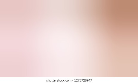 Gradient with Vanilla Ice, Pink, Quicksand, Brown color. Attractive and mystical blurred background with smooth color degradation. Template for journal or book layout.