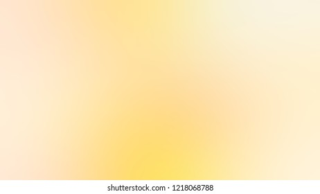 Gradient with Varden, Brown, Cream Brulee, Yellow color. Raster modern blurred background as a work of artistic. Template with changing shades and with space for text.