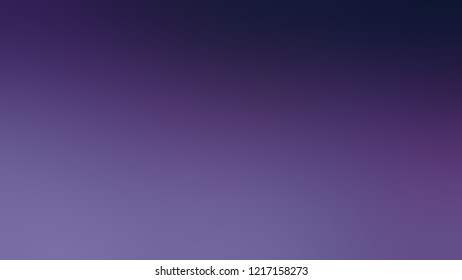 Gradient with Victoria, Violet, Midnight Blue color. Simple modern background with color transition.