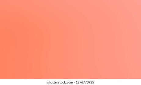 Gradient with Vivid Tangerine, Orange color. Bizarre and bitmap blank background. Blank page template for a website or presentation.