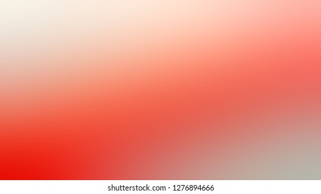 Gradient with Vivid Tangerine, Orange, Quicksand, Brown color. Calm and awesome blurred background without focus. Template for advertising and commercials.
