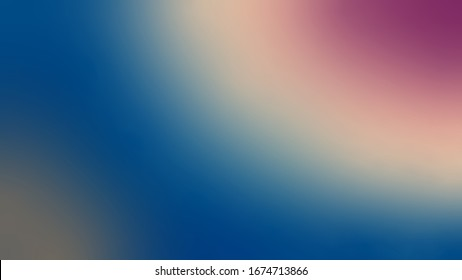 A gradient wallpaper material that gradually changes from blue. Abstract illustration as background material
