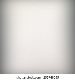Gradient white gray abstract background