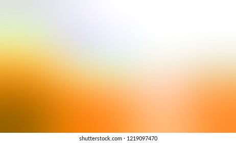 Gradient with White Smoke, Macaroni And Cheese, Orange color. Raster and awesome blurred background for banner or presentation.