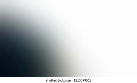 Gradient with White, Solitude, Very Dark Blue, Black color. A simple defocused and blurred background with the transition colors for advertising.